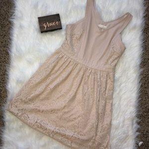Beautiful Cream Lace Dress